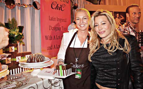 Singer Taylor Dane stops by to try some K Cakes.