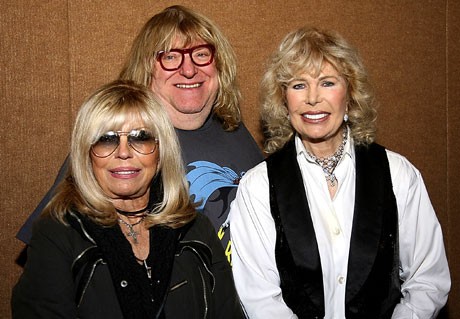 Three blondes: Nancy Sinatra,