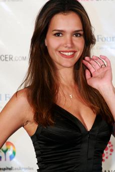 Brazilian model Camila Alves