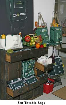 Eco Totable Bags at Green with Music