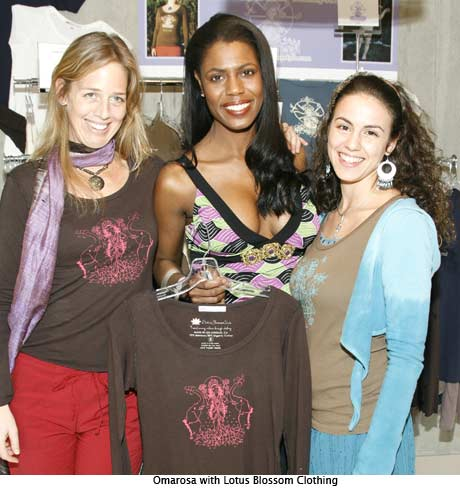 Omarosa with Lotus Blossom Clothing