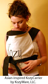 Keep your baby safe and close with Asian-inspired KozyCarrier by KozyWare.