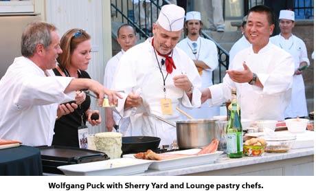 Wolfgang Puck, Sherry Yard