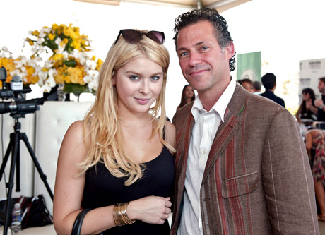 Actress Renee Olstead and CEO & Founder of GBK Productions Gavin Keilly