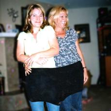 Big swim trunks before weight loss - Helen M. Ryan