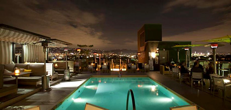 Celebrity Chef Eric Greenspan S The Roof On Wilshire