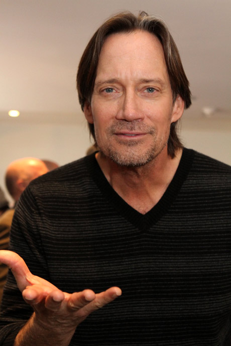 """Actor, director, producer and children's charity founder, Kevin Sorbo. You may know him best as """"Hurcules"""", who visited the lounge."""