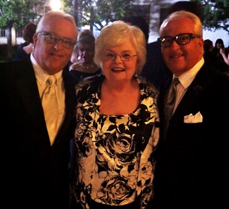Mark and Matt Harris was joined by Oscar nominee June Squib at the WOW! Creations Oscar Lounge.
