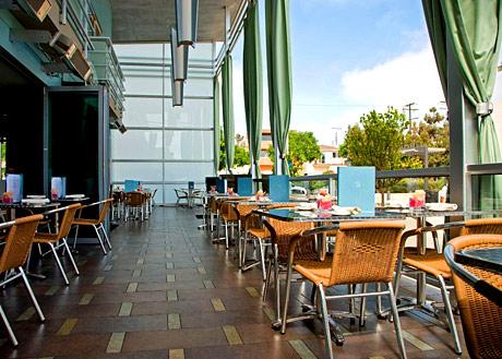 shade hotel zinc restaurant terrace