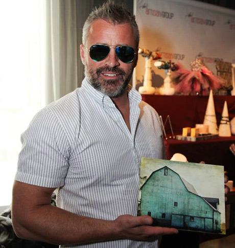 Actor Matt LeBlanc visiting The Artisan Group at at the GBK Hollywood award show gift lounge.