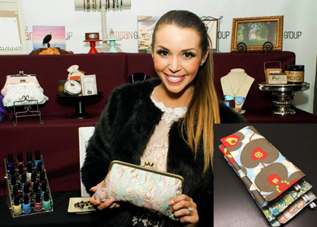 Scheana Marie of Vanderpump Rules with Girl by Aileen
