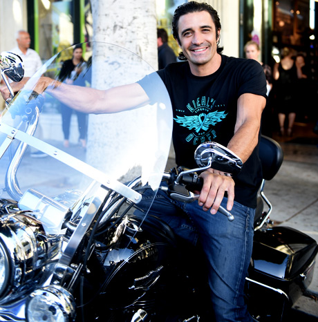 Gilles Marini with LifeRide