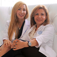 Sharona Rafealoff and Dr. Parvaneh Rafaeloff