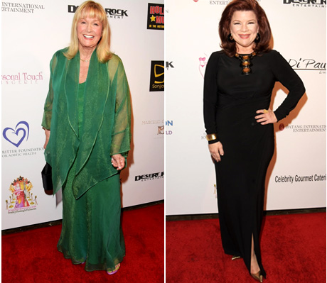 """Actress Diane Ladd and """"Have or Have Nots"""" actress Renee Lawless"""