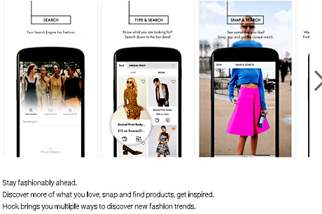 The Hook Fashion App