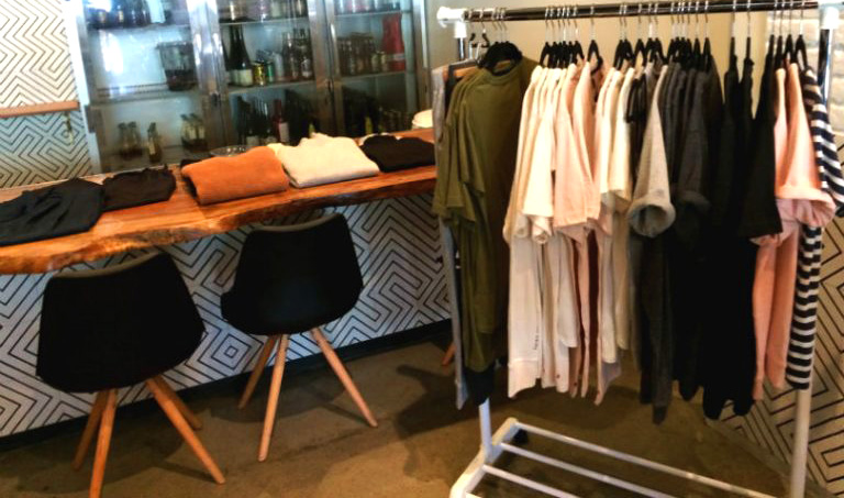 Great preview of Third Uprising's Fall Fashion line at Baldoria brunch