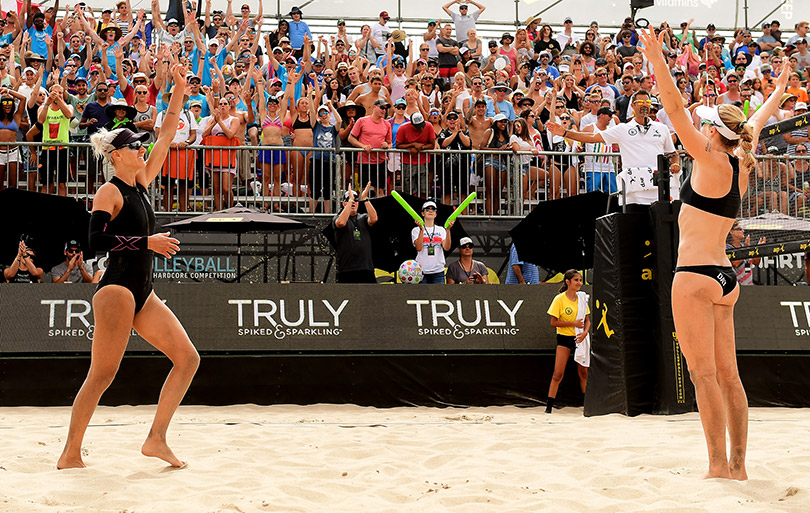 AVP 2017 Pro Volleyball Tour Showcases Drama-Filled Comeback in