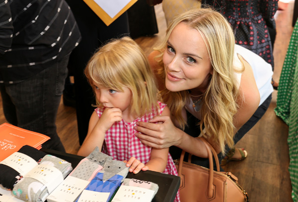 Amanda Stanton and daughter