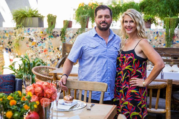 Chef Mirko Paderno of Estrella and Gina Wade