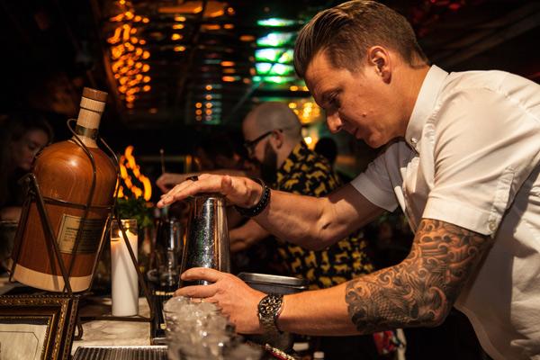 Attaboy NYC Bartending Legends' Monkey Shoulder Whiskey