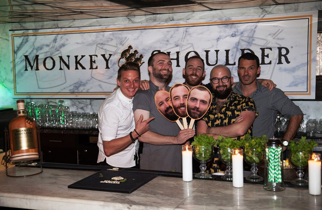 Attaboy NYC Bartending Legends' Pop-up with Monkey Shoulder Whiskey