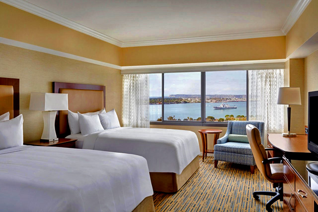 Marriott Marquis San Diego Marina guest room