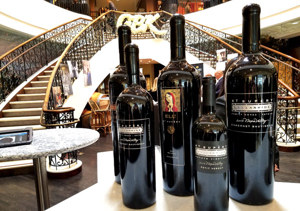 The St. Supéry Estate Tasting Salon on Rodeo Drive Beverly Hills