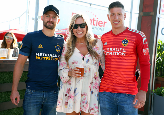 Perry Kitchen – Midfielder, LA Galaxy, Ashlee Conrad – Kona Brewing Company, and David Bingham – Goalkeeper, LA Galaxy