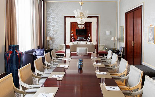 The Grand Hotel Oslo business center