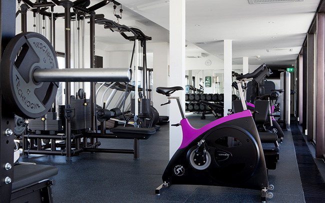 The Grand Hotel Oslo fitness center