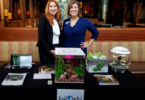 Melodie Elliott and Leslie Lancaster with BioOrb