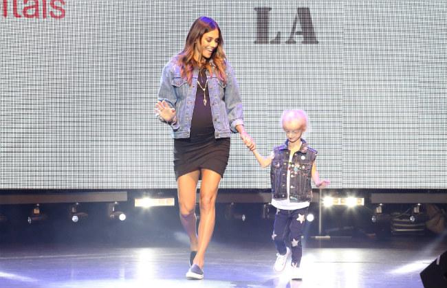 Jana Kramer & Miracle Kid Carly rock the runway --Shannon Laurine