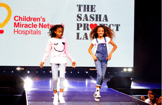 Miracle Kid JaKiah & Sophia Pippen rock the runway --Shannon Laurine