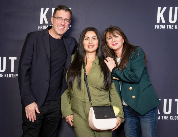 Jonathan Greenberg + Mercedes Javid + Evelyn Ober- Creative Director Kut From The Kloth