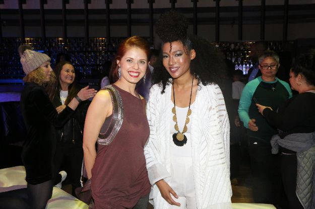 Anna Trebunskaya and Judith HIll