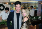 Joe Amabile, Kendall Long at the Mumu Collection bash