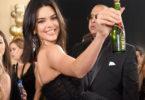Moet Minis Golden Globes Kendall Jenner