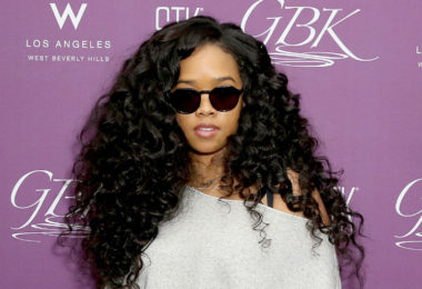 H.E.R. at the 2019 GBK Grammys Luxury Gifting Lounge