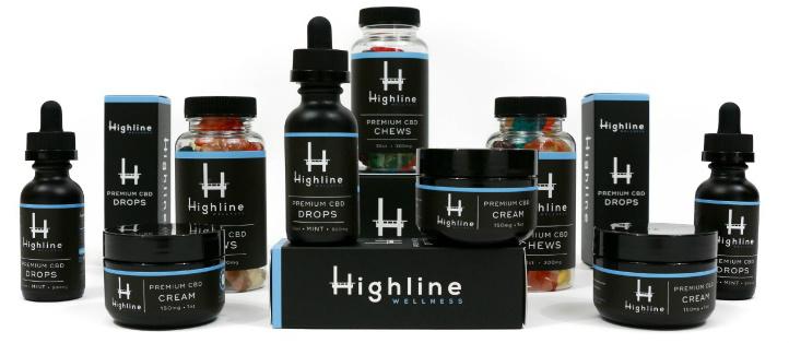 HIghline Wellness CBD products