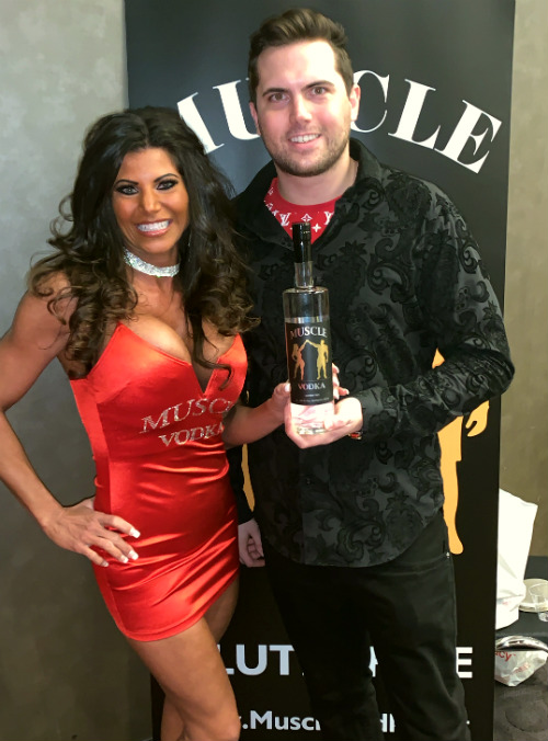Tyler Emery with Muscle Vodka