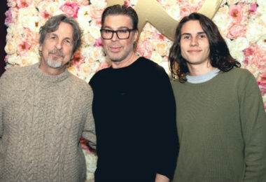 Peter Farrelly & Chaz Dean - photo by Kirsten Moore