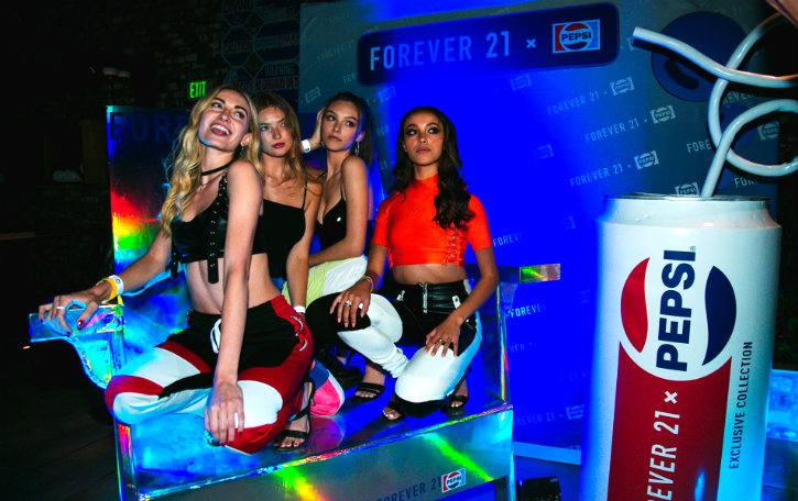 Pepsi Collaborates with Forever 21 for a Fun, Sporty Summer