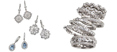 Penny Preville Diamond Earrings Rings