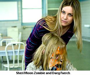 Sheri Moon Zombie and Daeg Faerch